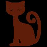 Samolepka na zeď: Kočička (1052) na stěnu