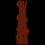 Samolepka na zeď: Kruhy se sloupcem (1082) na stěnu