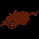 Samolepka na zeď: Kruhy ve zhluku (1085) na stěnu
