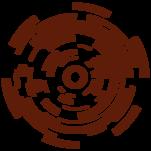 Samolepka na zeď: Kružnice (1087) na stěnu