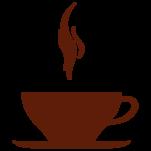 Samolepka na zeď: Espresso šálek (1115) na stěnu