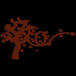 Samolepka na zeď: Strom na stěnu (1280) na stěnu