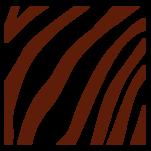 Samolepka na zeď: Zebra výřez A (1312) na stěnu