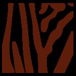 Samolepka na zeď: Zebra výřez F (1317) na stěnu