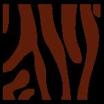 Samolepka na zeď: Zebra výřez G (1318) na stěnu