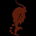 Samolepka na zeď: Delfín tatoo (1342) na stěnu