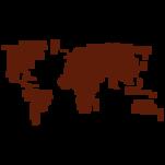 Samolepka na zeď: Svět z názvů (1377) na stěnu