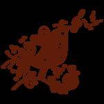 Samolepka na zeď: Skřivánek s korunkou (1535) na stěnu