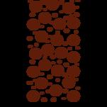 Samolepka na zeď: Kruhový pruh (1549) na stěnu
