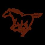 Samolepka na zeď: kůň :5025: na stěnu