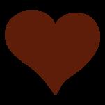 Samolepka na zeď: srdce :5322: na stěnu
