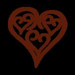 Samolepka na zeď: srdce :5509: na stěnu