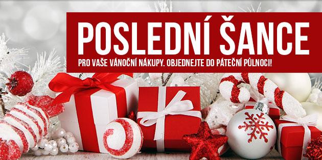 Poslední šance nákupu vánočních dárků (baner)