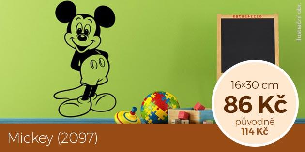 Mickey (2097) – samolepka na zeď