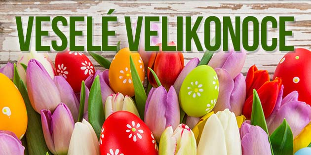 banner Veselé Velikonoce